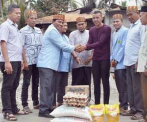 BKPRMI Abdya Salurkan Bantuan Untuk Korban Kebakaran di Manggeng
