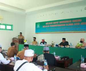 Bupati Aceh Jaya Buka Rakor MPU, Ini Pesannya
