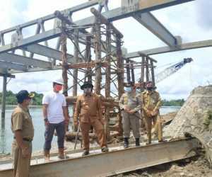 Jembatan Bintah Ditargetkan Selesai 2020