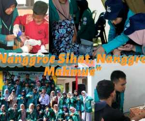 Mahasiswa Keperawatan Unsyiah Banda Aceh, Gemparkan Lima Desa