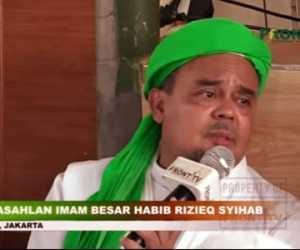 Habib Rizieq Masuk Sebagai Kandidat Capres Potensial 2024