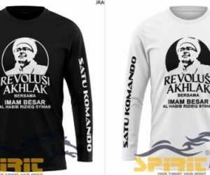 Gerakan Memakai Kaus Bergambar Habib Rezieq Bergaung di Medsos