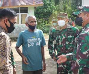 Danrem 012/TU Bantu Sound System Untuk Meunasah di Aceh Jaya