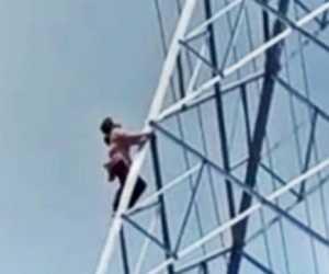 Diduga Depresi, Remaja di Medan Panjat Tower Telekomunikasi