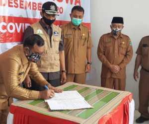 Pemkab Aceh Jaya Terima Bantuan Masker Dari Provinsi Aceh