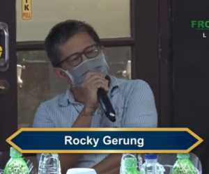 Keras! Di Reuni 212, Ini Sindiran Rocky Gerung Terhadap Jokowi