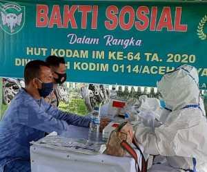 810 Orang Di Aceh Jaya Ikut Rapid Test Masal, Ini Hasilnya