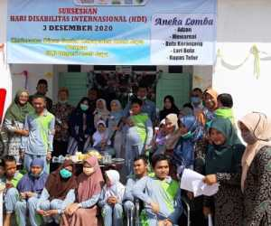 Meriahkan Hari Disabilitas Internasional SLBNAceh Jaya Adakan Aneka Lomba