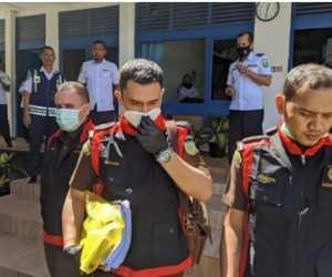 Kejari Abdya Geledah Kantor Dinas Pengairan Aceh