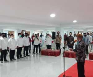 Bupati Abdya Kukuhkan Pengurus BKM Mesjid Agung Baitul Ghafur