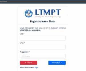 Begini Cara Daftar Akun LTMPT untuk SNMPTN, SBMPTN, dan UTBK 2021