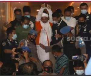 Habib Rizieq Ditahan, Fadli Zon: Kini Terang Benderang Siapa yang Biadab