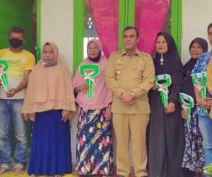 Mualaf dan Guru Dayah Dapat Bantuan Rumah Di Aceh Jaya