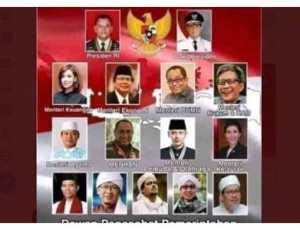 Kabinet Masa Depan Beredar: Gatot Presiden, Habib Rizieq Penasihat