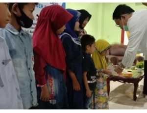Peringati Hari Relawan, PMI Aceh Selatan Santunan Anak Yatim