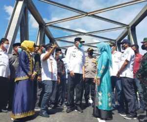 Gubernur Aceh Resmikan Jembatan Bintah