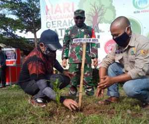 Tanam Satu Juta Pohon, Bupati Aceh Jaya Apresiasis LSM Kita Peduli