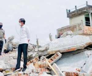 Presiden Nyatakan Bantu Rumah Korban Gempa yang Rusak Berat Senilai Rp 50 Juta