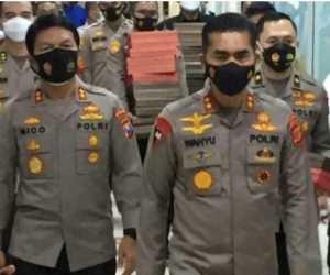 Kapolda Aceh Pimpin Penyerahan Naskah Visi Misi Calon Kapolri