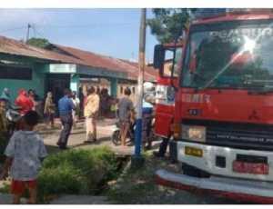 Satu Unit Rumah di Kluet Utara, Aceh Selatan Nyaris Dilalap 'Si Jago Merah'