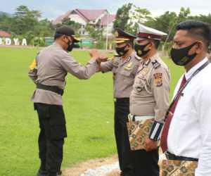 19 Personil Polres Abdya Terima Piagam Penghargaan dan 1 Perwira Naik Pangkat