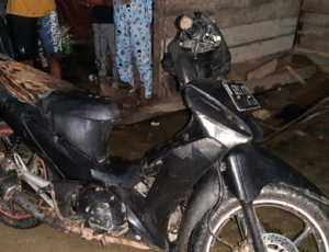 'Ngamuk' Tiba Tiba, Pria Aceh Utara Bakar Motor Warga