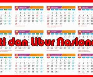Catat! Ini Daftar Hari Libur Nasional dan Cuti Bersama 2021