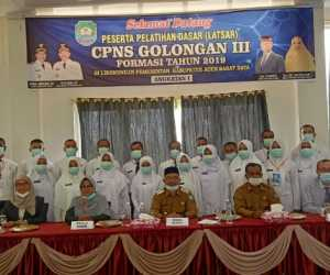 133 CPNS Abdya Dibekali Semangat Pengabdian Terhadap Masyarakat, Bangsa dan Negara
