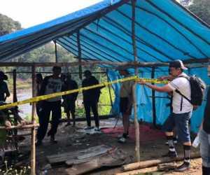 Turun lokasi, Tim Satreskrim Tidak Temukan Alat Berat di Krueng Sikuleh