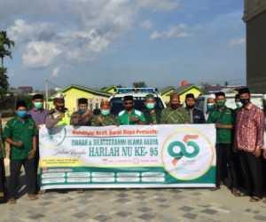 Semarakkan Harlah, Warga NU Abdya Ziarah dan Silaturahmi ke Sejumlah Ulama