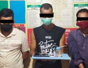 Duh! Lagi 'Pesta Sabu' Keuchik dan Eks Keuchik Ditangkap Polisi