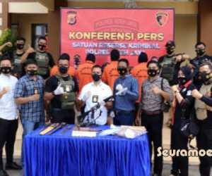 Miliki Senpi, Warga Aceh Jaya Terancam Penjara Seumur Hidup