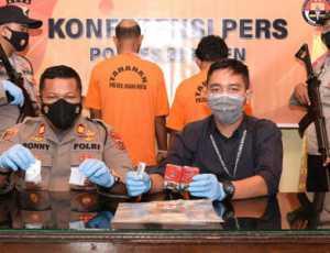 Diduga Pengedar Sabu, Dua Pria di Bireuen Ditangkap Polisi