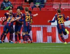 Barcelona Hantam Sevilla 2-0, Lionel Messi Cetak Gol dan Assist