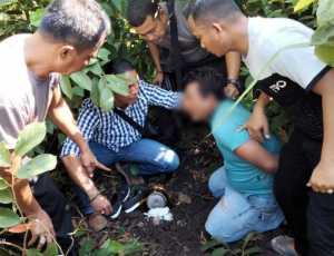 Rumah Digerebek Polisi, Satu Ditangkap Tiga Melarikan Diri