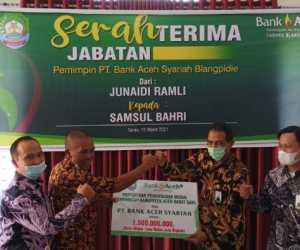 Kepala Bank Aceh Blangpidie Pindah Tugas