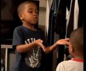 Viral! Anak Usia 6 Tahun Dapat Meredamkan Emosi Adiknya