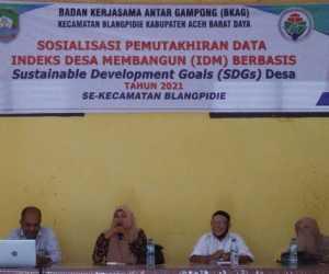 BKAG Blangpidie Abdya Gelar Sosialisasi IDM Berbasis SDGs