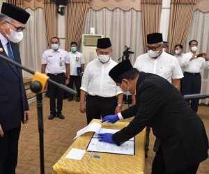 Berikut Nama Pejabat Aceh Yang Dilantik Gubernur