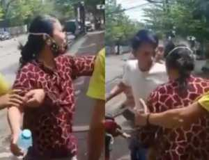 Viral Ibu-ibu Korban Ledakan Bom Makassar Dibawa ke RS Pakai Sepeda Motor