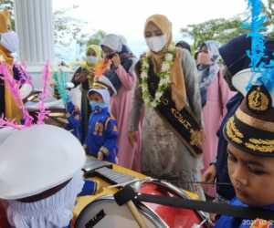 Hadir Ke Aceh Jaya, Dyah Erti Idawati Dorong Bunda PAUD Gampong Terbentu