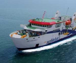 KMP Aceh Hebat 1 Dikabarkan Mati Mesin di Tengah Laut Saat Berlayar Ke Calang