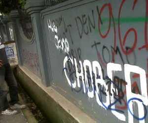 Coretan Gambar Alat Kelamin di Masjid, Polisi : Pelaku Hanya Iseng
