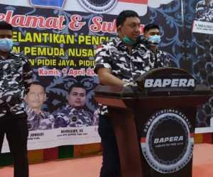 Jika Ketua Bapera Pidie Jaya Maju Sebagai Calon Kepala Daerah, Fadh Arafiq siap jadi Donatur