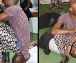 Viral! Sembuhkan Penyakit, Pendeta Ini Kentut di Wajah Jemaat