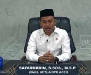 Safaruddin : Saat ini DPR Aceh Sedang Diterpa Virus 'Covid-33'