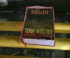 Buku Teror Intelijen Berangus Gerakan Islam Ditemukan di Gereja