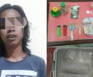 Diduga Bandar Sabu, Pemuda Aceh Tamiang Dibekuk Polisi