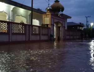 Hujan Deras Guyur Pidie Jaya, Lima Desa Tergenang Bajir