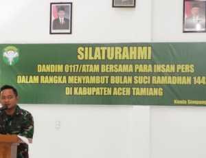 Dandim Aceh Tamiang Gelar Coffe Morning Dengan Awak Media